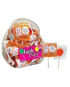Faith Pops Scripture Candy Jar