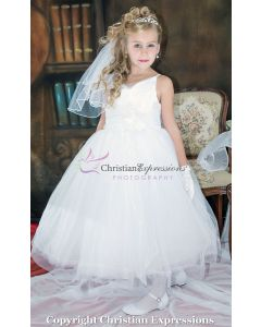 First Communion Dress Cinderella Style