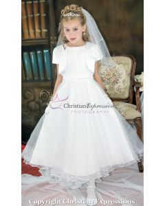 First Communion Dress Halter Bodice and Jacket