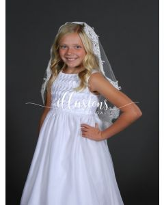 First Communion Lace Mantilla-3 Sizes Available