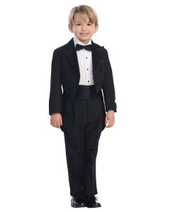 First Communion Tuxedo Suit with Tails