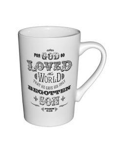 For God So Loved Christian Coffee Mug