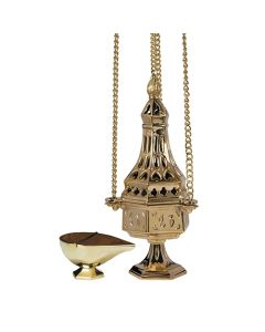 French Church Censer with Boat
