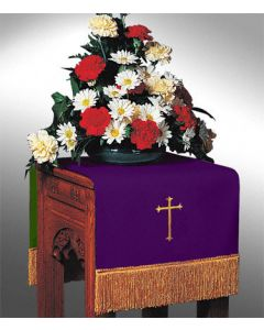Reversible Flower Stand Cover Hunter/Purple