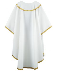 Galloon Trim Clergy Chasuble Vestment