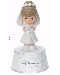 Girls Precious Moments First Communion Music Box