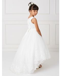 Lace Holy Communion Dress with Train