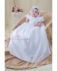 Girls Christening Gown Style Ashley