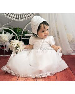 Girls Christening Gown Style Audrey