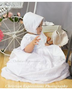 Girls Christening Dress Style Lisa
