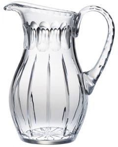 Etched Glass Communion Wine Flagon
