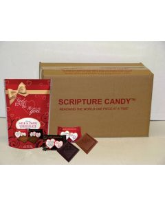 God So Loved Me Christian Chocolates Pouch Case