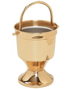 Gold  Holy Water Pot with Sprinkler