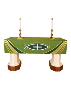 Green Epiphany Altar Frontal Ascension Series