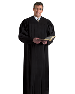 Pulpit Robe Plymouth Black