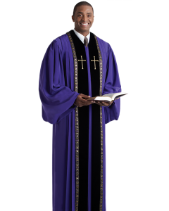 Pulpit Robe Wesley Royal Purple