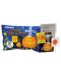 Harvest Pops and Cards Scripture Candy Bags