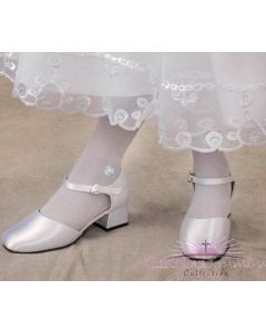 Irish First Communion Stockings with Shamrocks