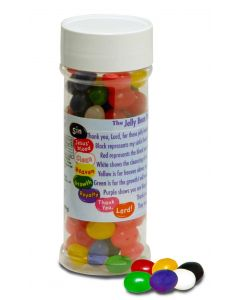 Jelly Bean Prayer Bottle Scripture Candy