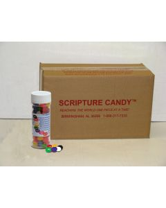 Jelly Bean Prayer Bottle Scripture Candy Case