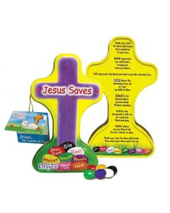 Jelly Bean Prayer Cross Scripture Candy Tin