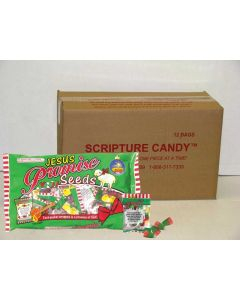 Jesus Christmas Scripture Candy Promise Seeds - Case