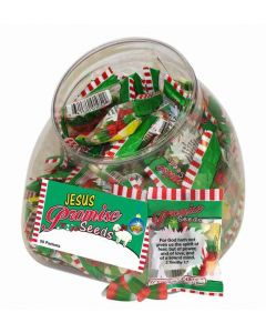 Jesus Christmas Scripture Candy Promise Seeds - Jar