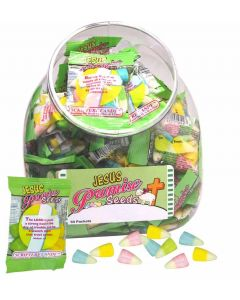 Jesus Easter Scripture Candy Promise Seeds - Jar