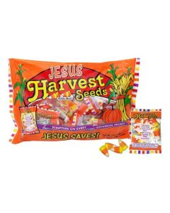 Harvest Seeds Candy Corn Scripture Candy Bags