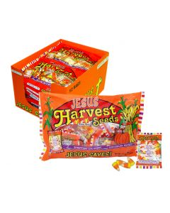 Harvest Seeds Candy Corn Scripture Candy Case