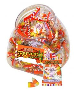 Harvest Seeds Candy Corn Scripture Candy Jar