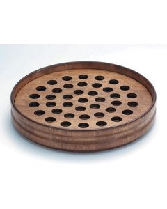 Handcrafted Maple Communion Tray 40 Servings