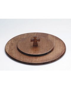 Maple Wood Finish Communion Tray Cover