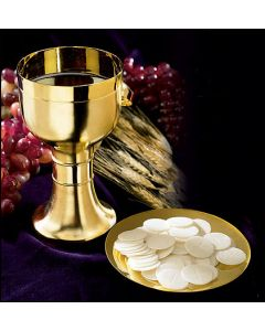 Modern Chalice and Paten