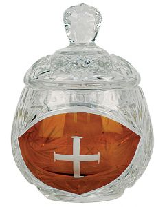 Ablution Cup with Engraved Cross