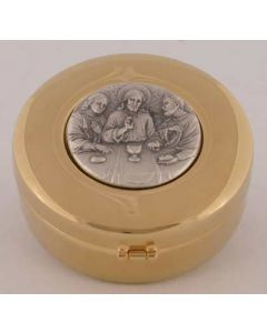 Hospital Communion Pyx with The Last Supper 60 host