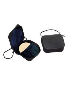 Communion Burse with Zipper Closure Genuine Leather