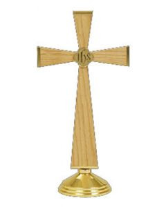 Altar Cross with IHS Symbol