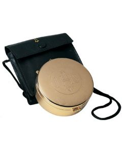 Hospital Communion Pyx with Etched IHS 75 Cap