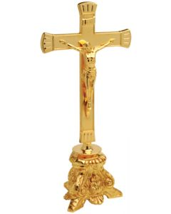 Gold Plated Church Altar Crucifx