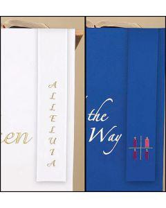 Reversible Christmas & Easter Bookmark Parament
