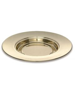 Solid Brass Stacking Bread Plate