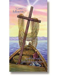Fishers of Men Scripture Church Banner