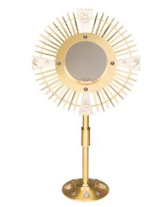 Large Capacity Church Monstrance with Evangelists