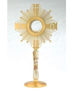 Monstrance with Alabaster Stem