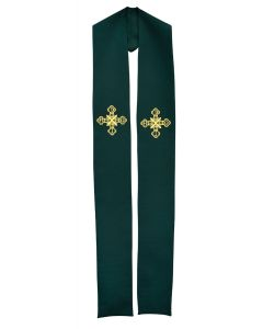 Maltese Cross Clergy Stole or Deacon Stole