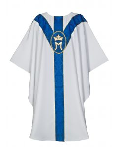 Marian Crown Clergy Chasuble Vestment