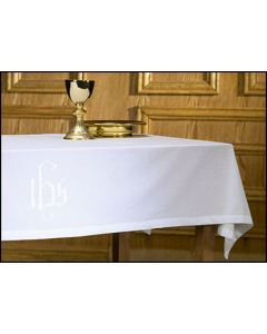 Cotton Blend Altar Frontal with IHS Symbol