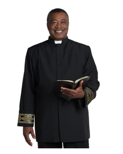 Men's Black Clergy Jacket