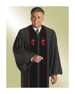 Men's United Methodist Clergy Robe